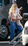 """Heather Locklear On Set Of """"Melrose Place"""""""