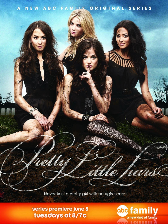 Pretty little liars poster promocional